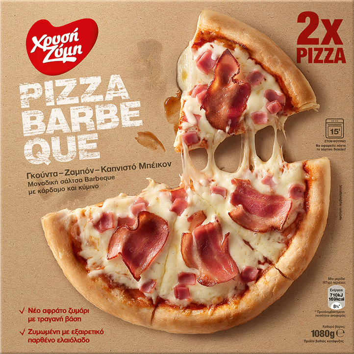 Pizza Barbeque Χρυσή Ζύμη