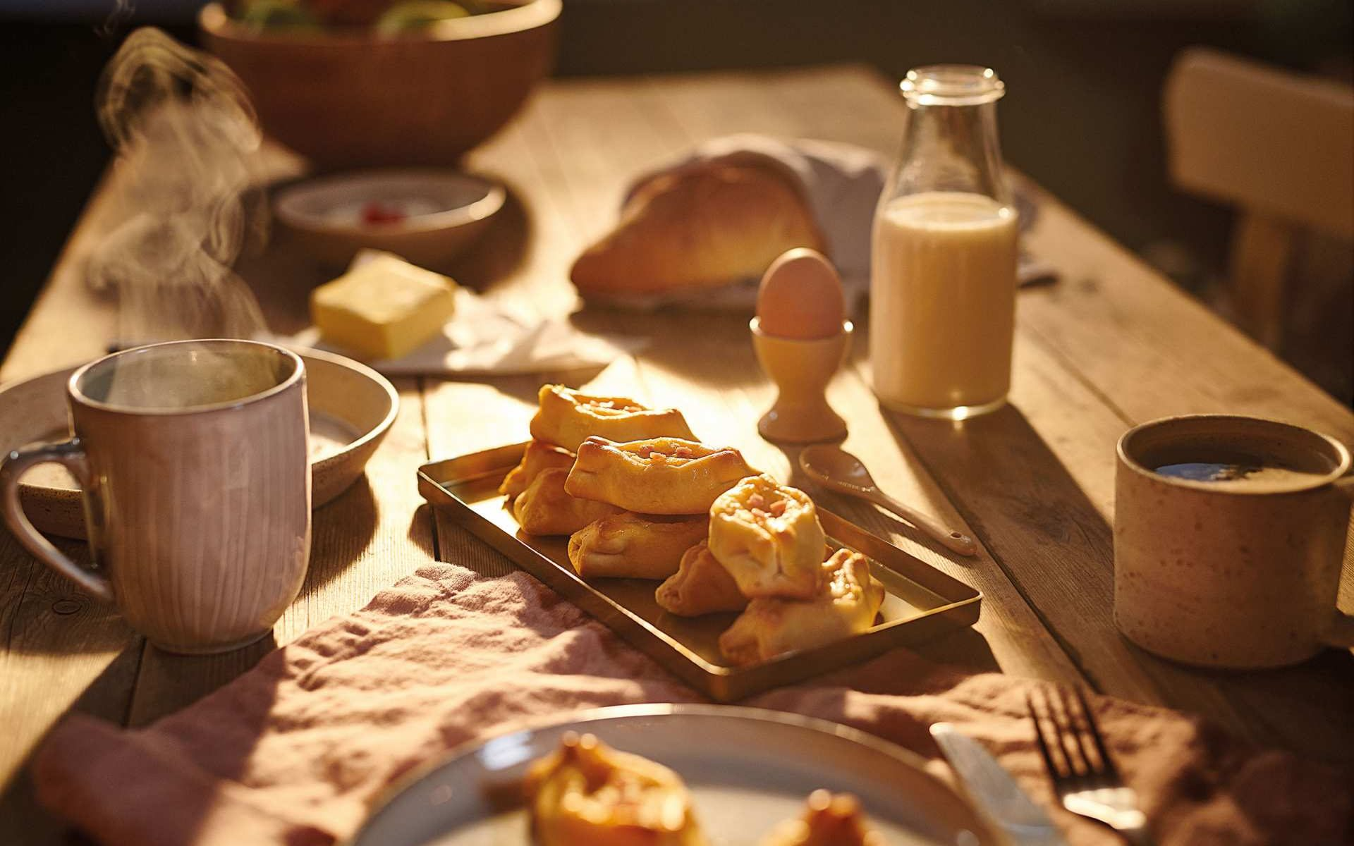 Χρυσή Ζύμη Πεϊνιρλί με καπνιστό μπέικον και κασέρι