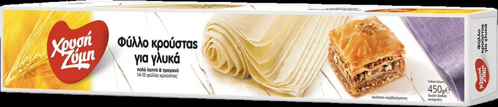 Φύλλο Κρούστας για Γλυκά Χρυσή Ζύμη