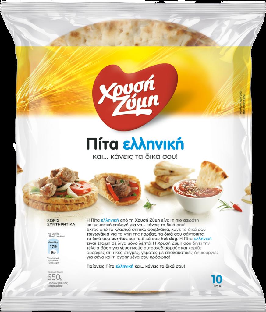 Πίτα Ελληνική Χρυσή Ζύμη