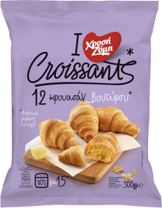 Croissants Βουτύρου Χρυσή Ζύμη