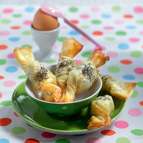 Αλμυρές Καραμελίτσες με Λαχανικά με Φύλλο Κρούστας για Πίτες Χρυσή Ζύμη