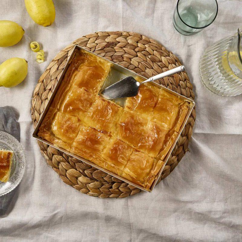 Γαλακτομπούρεκο Παραδοσιακό με φύλλο κρούστας για Γλυκά Χρυσή Ζύμη