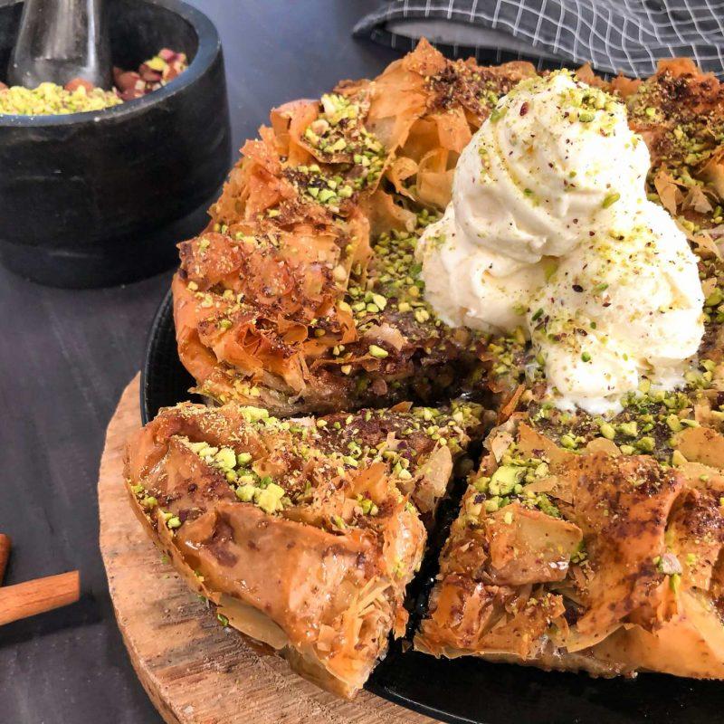 Πίτα Μπακλαβά σε φύλλο κρούστας για γλυκά Χρυσή Ζύμη